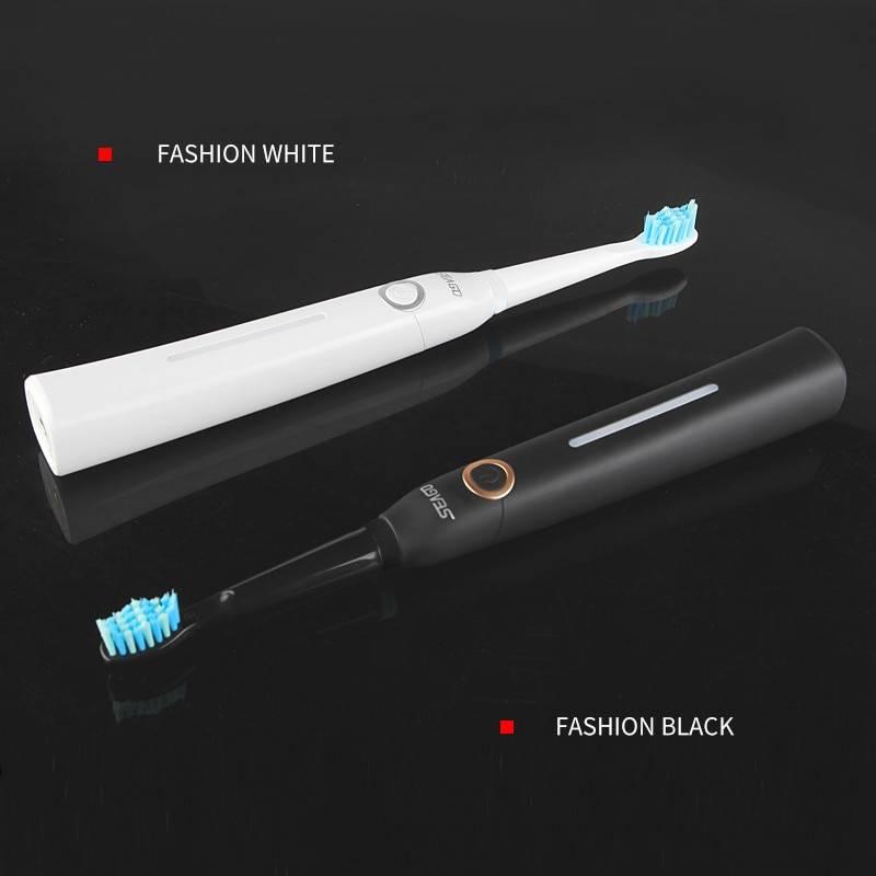 Seago Sonic Electric Toothbrush 5 Mode 10 Heads – فرشاة الأسنان الكهربائية سيجو 5 سرعات 10 رؤوس Sonic Electric Toothbrush Smart Techs, Better Living