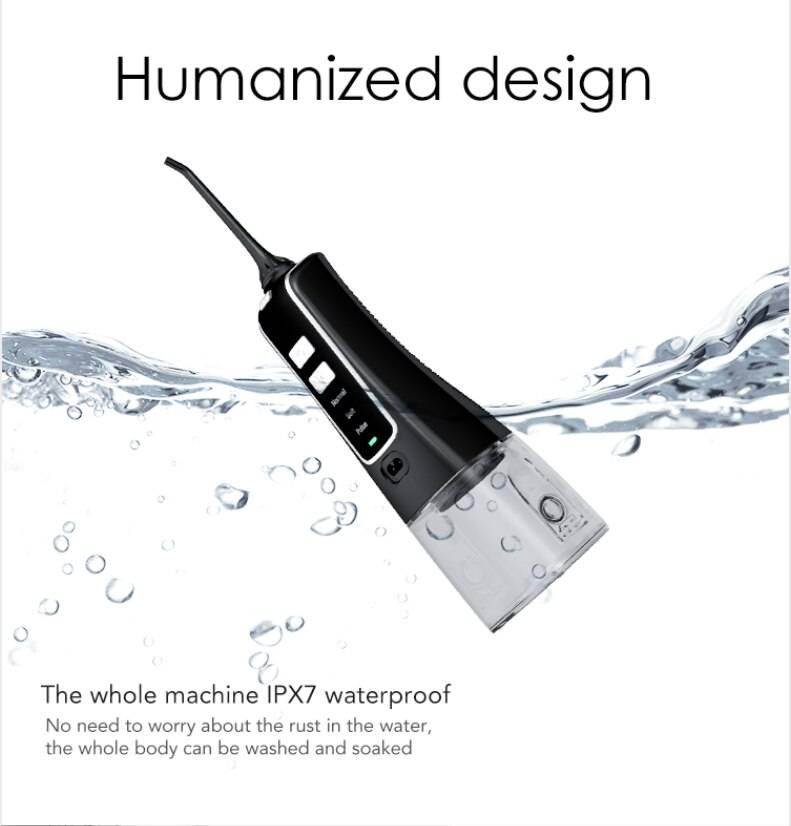 Nicefeel Dental flosser 3 Modes Cordless Oral Irrigator خيط الاسنان المائي نايس فيل 3 سرعات